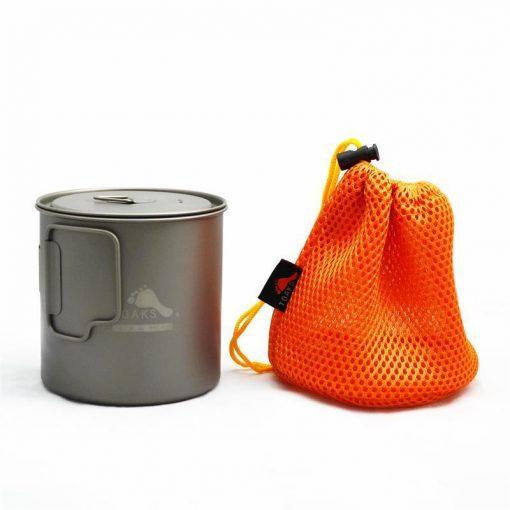 Toaks Ultralight Titamium 650ml Pot Cup Pan Quality Gear