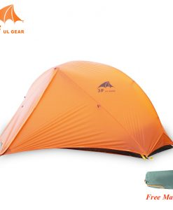 d42ba8a7e61b 3f UL Lanshan Tent 1 person 2 Person ultralight tent 2 layer
