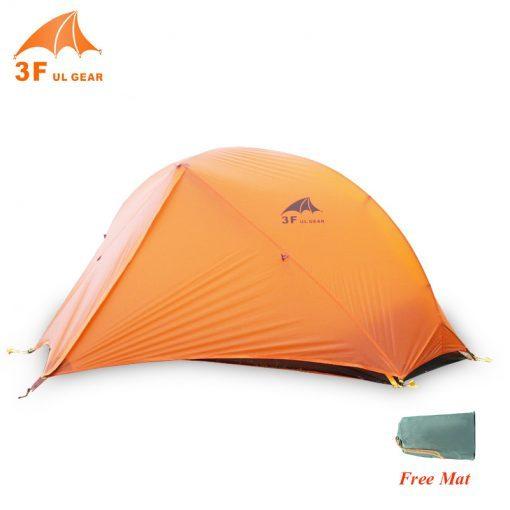 3F UL Piaoyun 2 Tent Ultralight 2 Person 3-4 Season 210- 15D tent