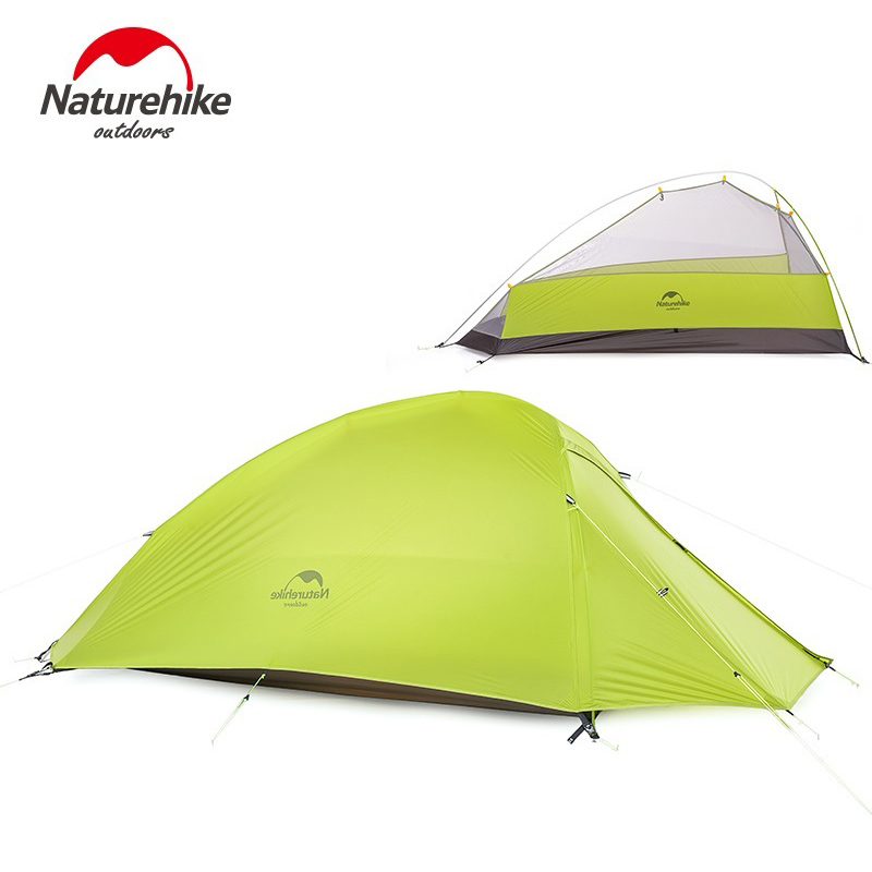 NatureHike Cloud Up 1 Tent Double-layer Ultralight NH15T001-T GREEN  sc 1 st  Hiker Outlet & Cloud Up 1 Tent Double-layer Ultralight NH15T001-T GREEN