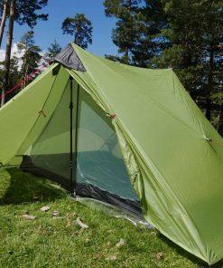 3F UL LanShan Green Ultralight Tent 3 Season Professional 15D Silnylon Rodless